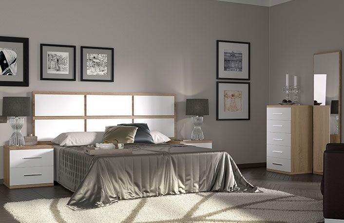 Matrimonio Bed : Dormitorio matrimonio cabecero corrido plafones y sinfonier