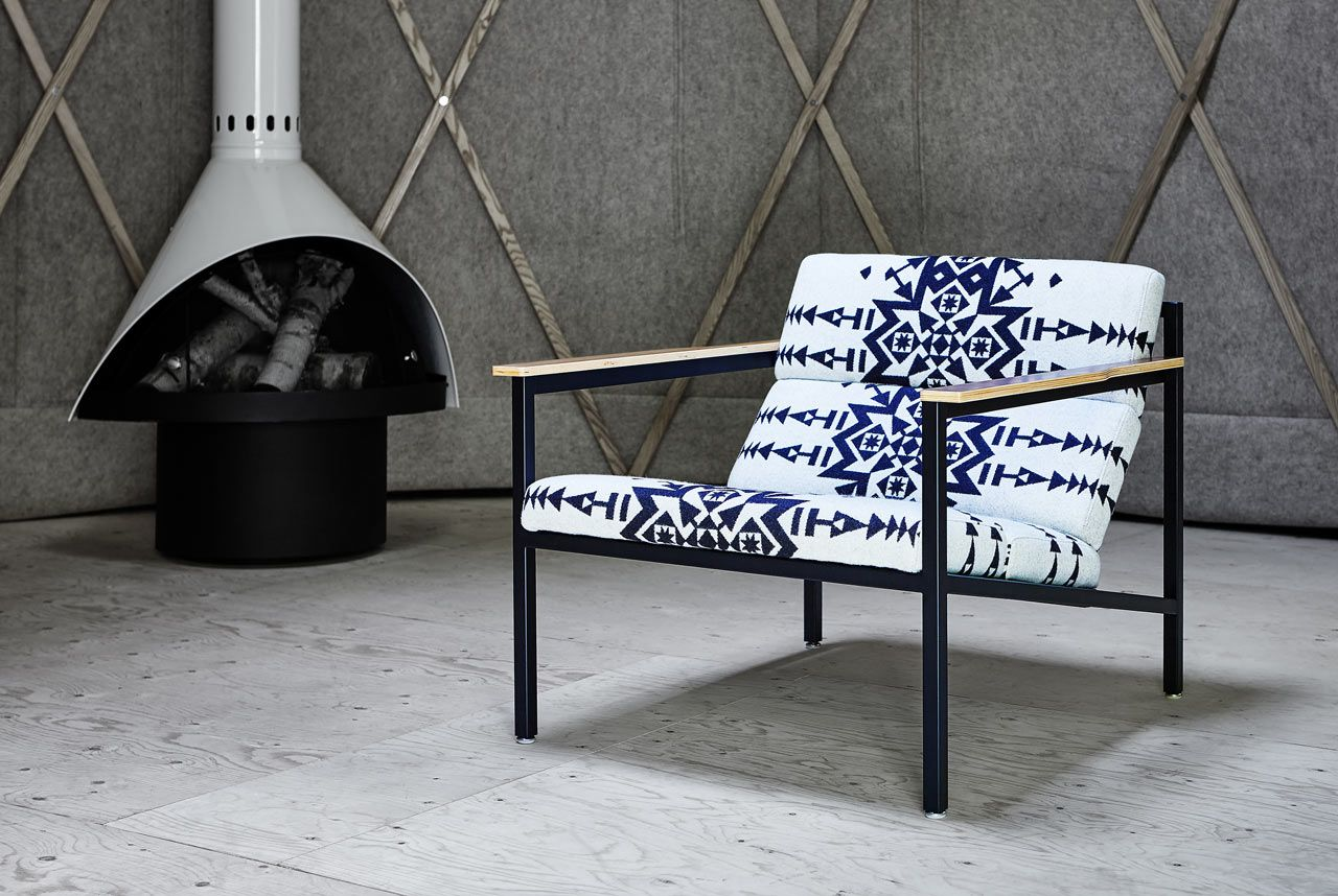 High Quality Gus* Modern X Pendleton Woolen Mills Collaborate On Chairs