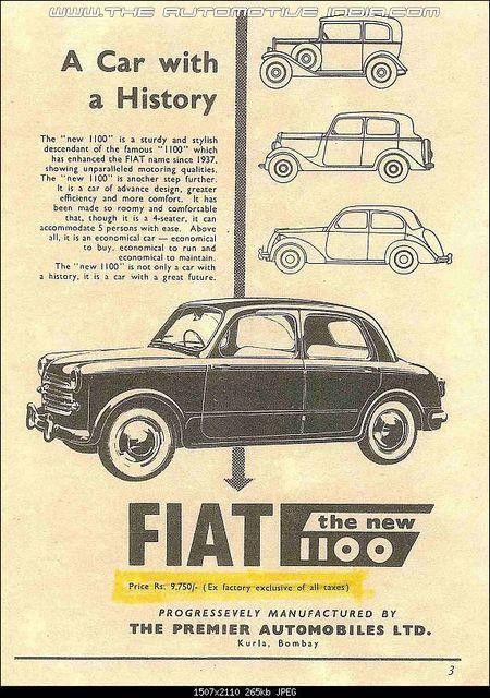 Premier Padmini Old Vintage Cars Old Advertisements Vintage