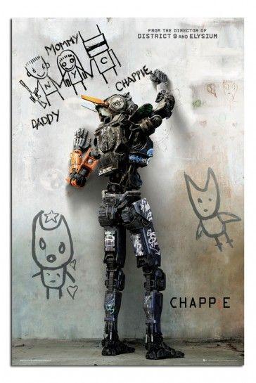 Chappie Movie Teaser Poster