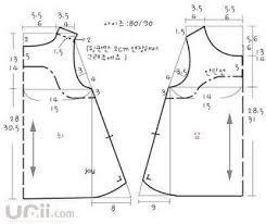 Resultado de imagem para molde de blusa infantil