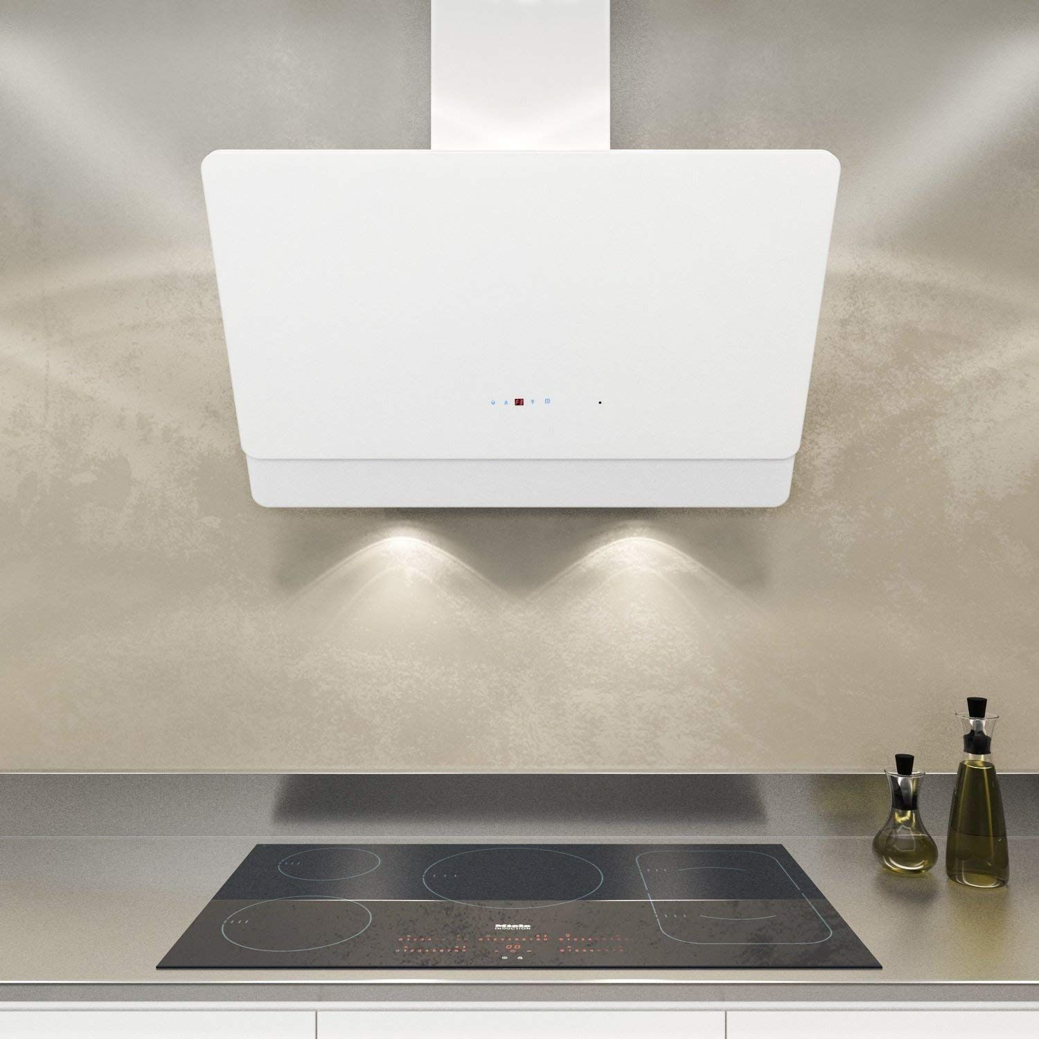Neg Cooker Hood Kf599 Extraction Circulating Air Amazon De Large Appliances In 2020 Dunstabzugshaube Led Beleuchtung Abluft