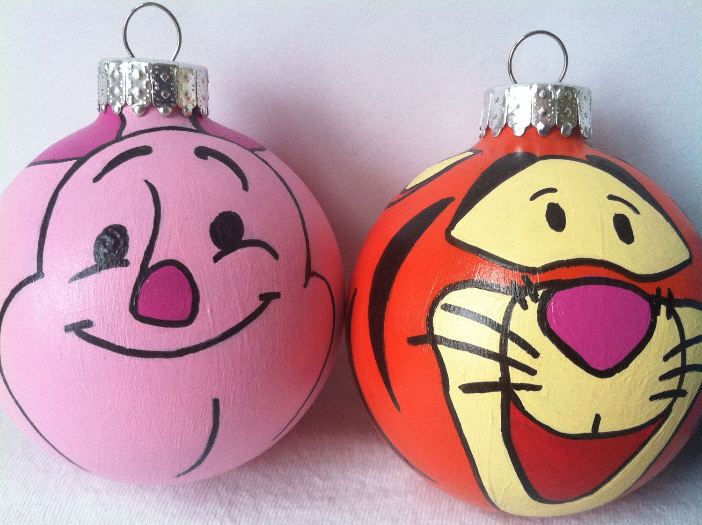 Piglet And Tigger Winnie The Pooh Christmas Disney Christmas Disney Ornaments