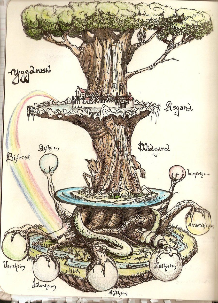 Image result for Yggdrasil