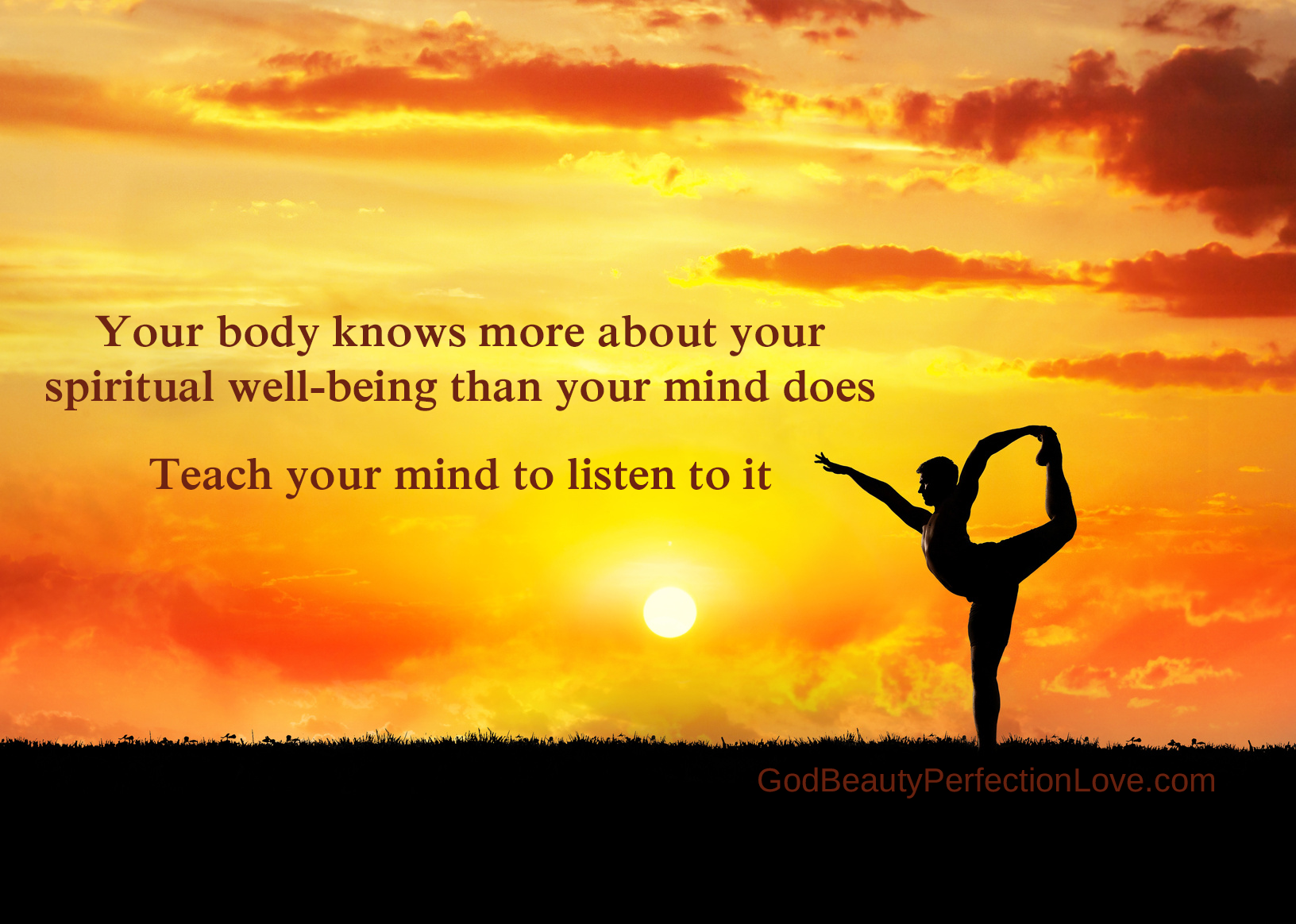 Your Body Knows More About Your