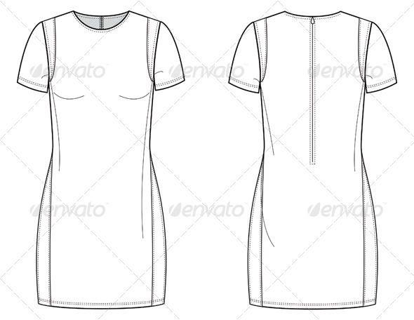New  Dress Fashion Pleated Dresses Templates Flats Fashion Women S Dresses