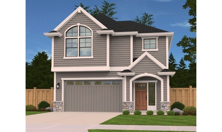 Lombard Poplar House With Porch Small House Design