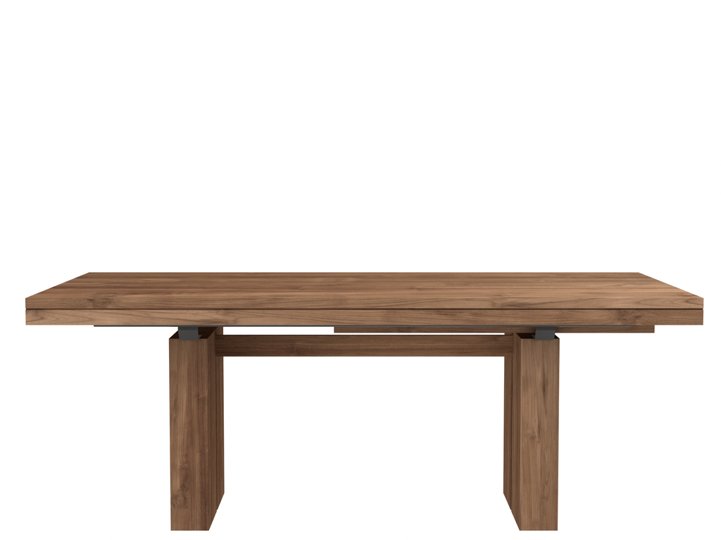 Double Extendable Dining Table Teak Extendable Dining Table