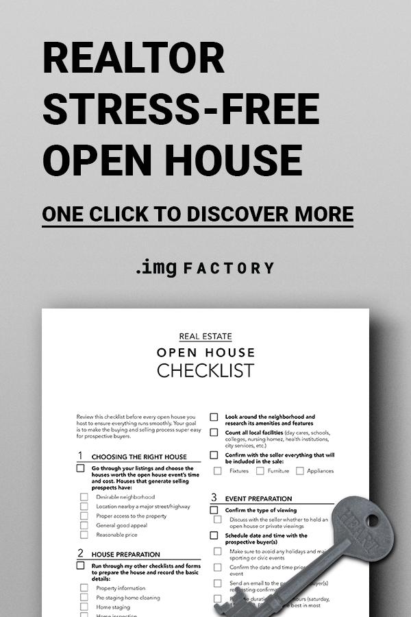 Real Estate Open House Checklist Real Estate Marketing Etsy Open House Checklist Open House Real Estate Open House