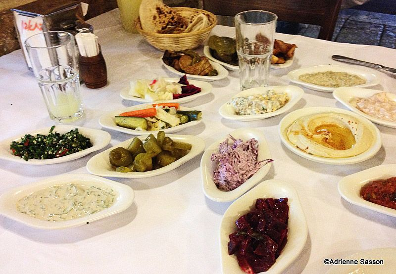 Appetizers in yafo telavivyafo abulafia