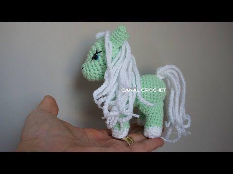 Unicornio amigurumi, paso a paso a crochet, parte 1 - YouTube ... | 360x480