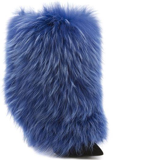 Giuseppe Zanotti Fur Boots Reliable For Sale w5MrZ0