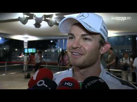F1 2014 Abu Dhabi GP - Nico Rosberg post race interview