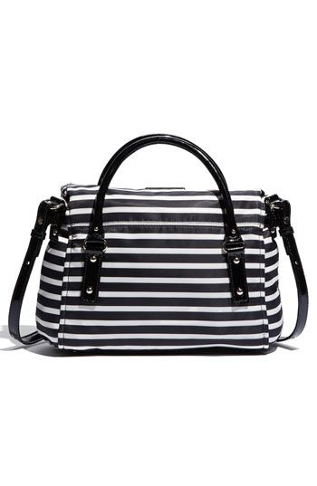 $318 kate spade new york 'small leslie' nylon satchel