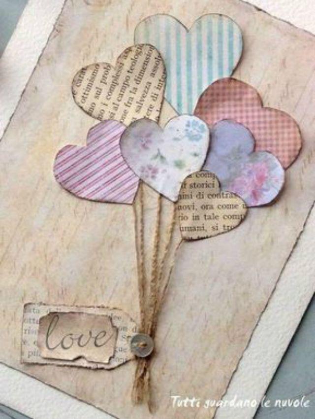 Cartão para Dia dos Namorados: 36 Ideias Criativas + Passo a Passo   Revista Artesanato