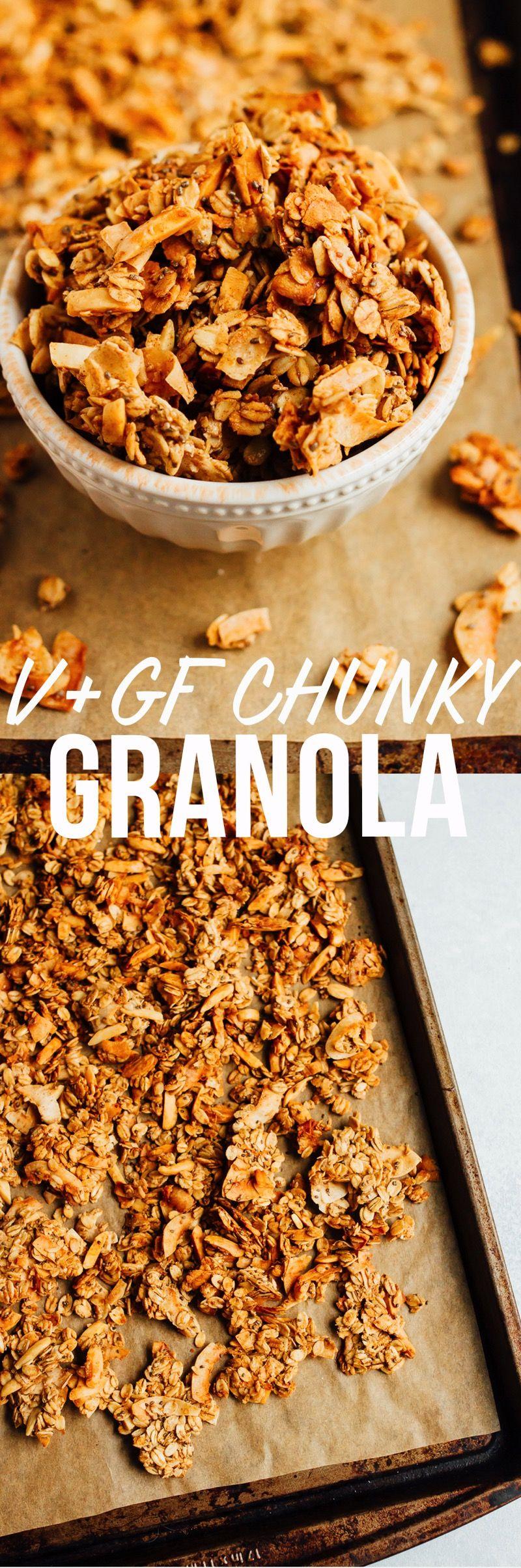 Coconut almond granola recipe food food recipes granola