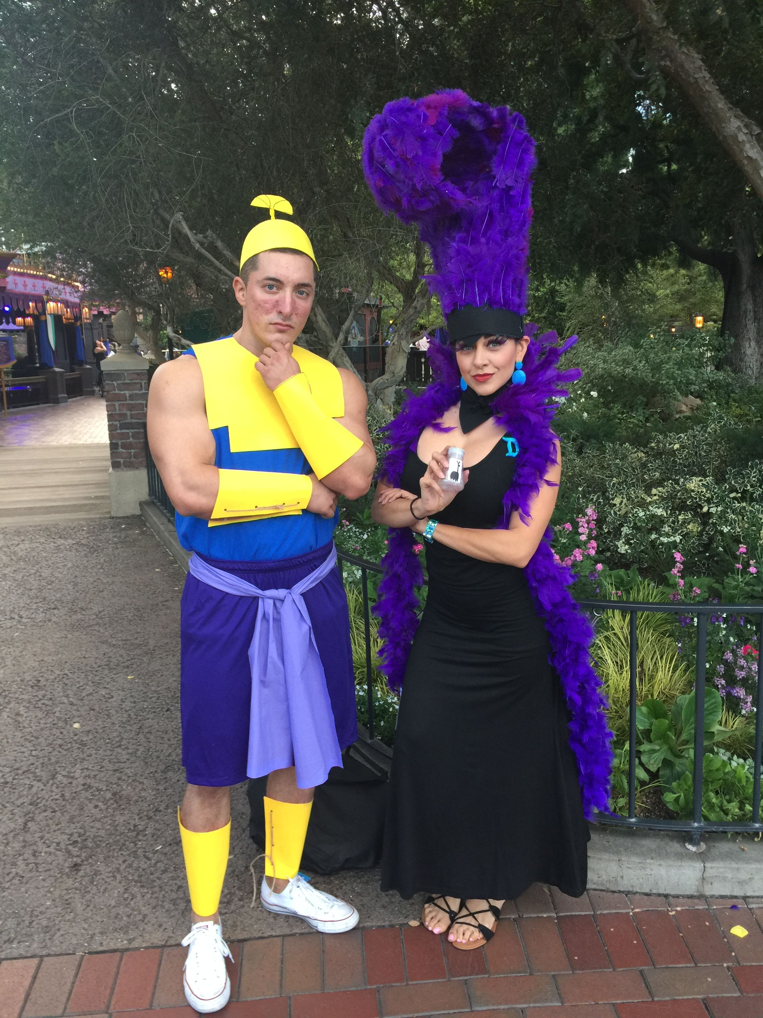 halloween costumes for mickeys halloween party 2016 kronk yzma emperors new groove