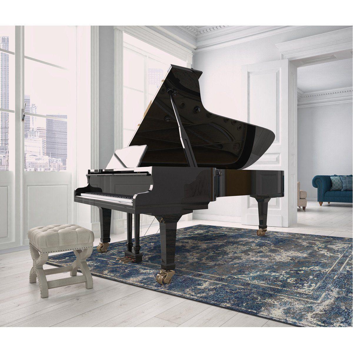Dalyn lavita lv80 pewter rug piano stylish floor mat