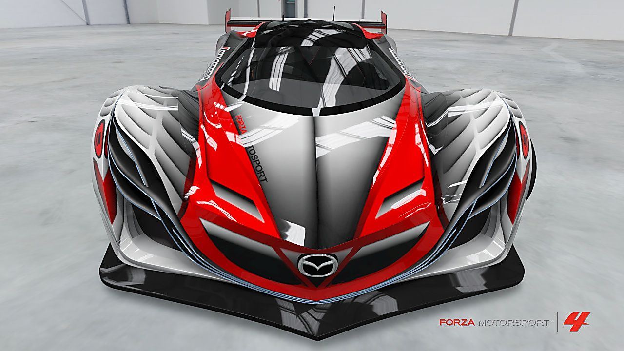 Red + grey Mazda Furai Mazda Furai Pinterest Mazda