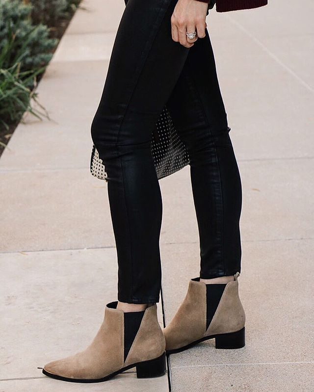 These boots are made for walkin' 💯 Another look at yesterday's post on blushfulbelle.com!        Marc Fisher   fall boots   on trend  