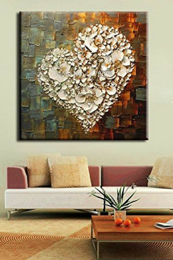 Adorable Charming And Unique Heart Shaped Wall Decor Heart Wall Decor Unique Wall Decor Wall Decor