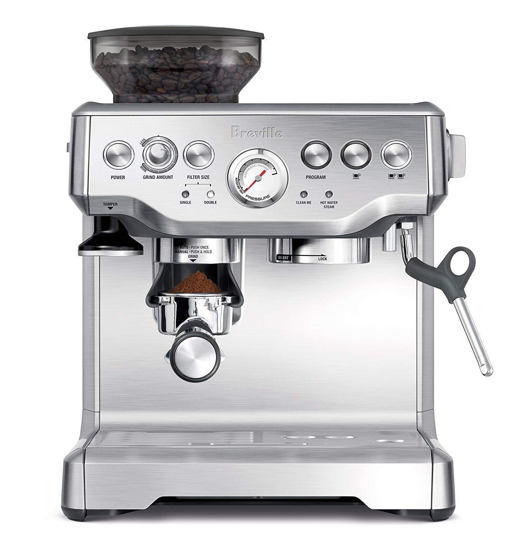 Breville Bes870xl Barista Express Espresso Machine In Stainless Steel Ebay Best Home Espresso Machine Breville Espresso Machine Home Espresso Machine