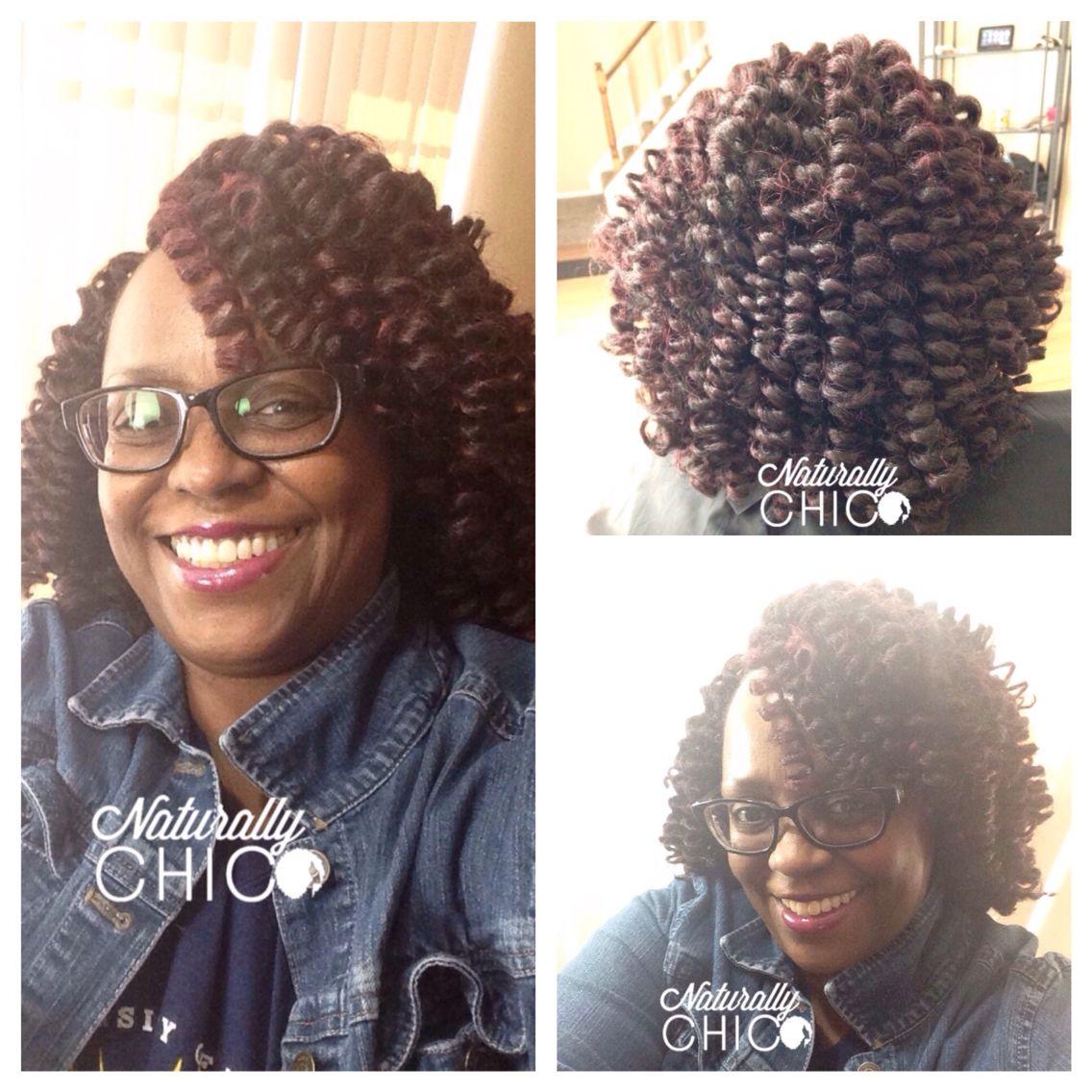 Crochet Braids Marley Hair Color 99j Natural Hair Salons Curly Hair Salon Natural Hair Styles