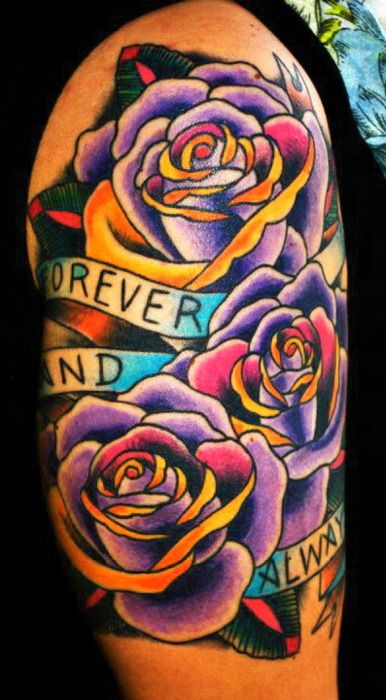 My next tattoo is going to have this kind of color <3