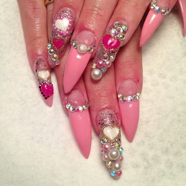 Nailart (over the top )
