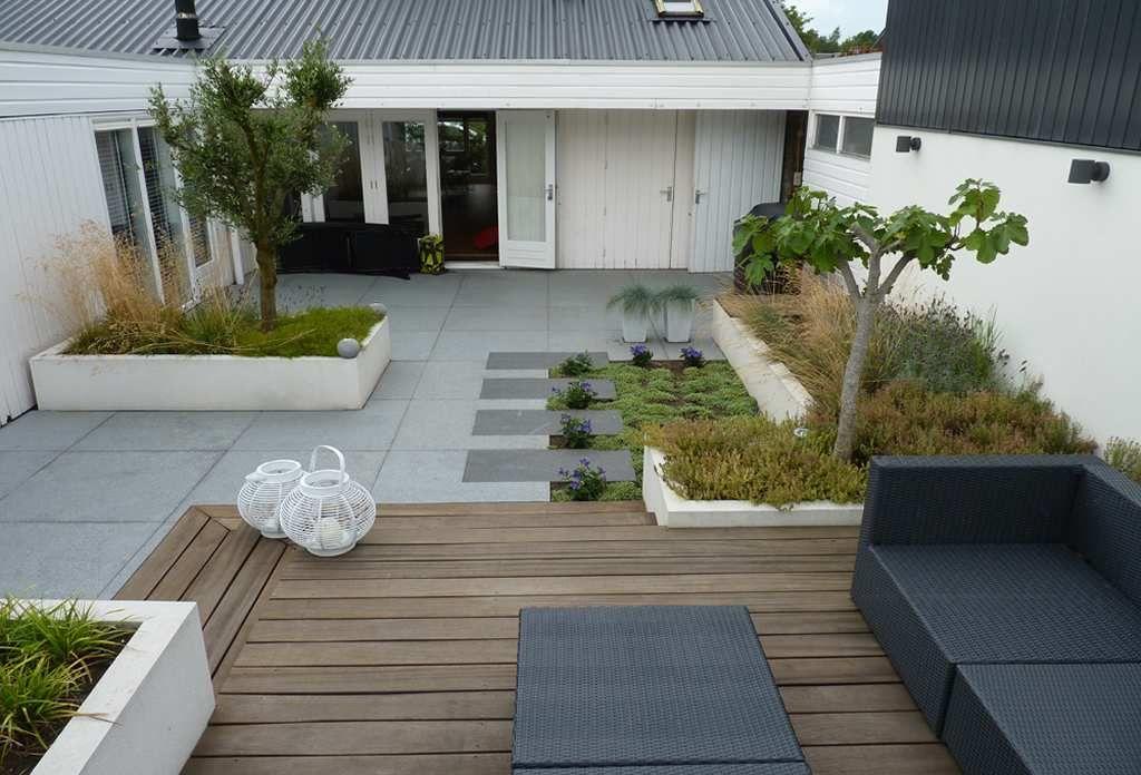 Moderne tijdloze tuin landscape jardins déco