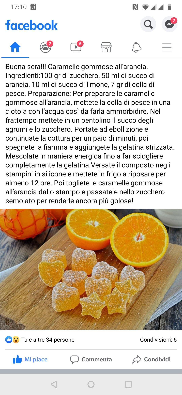 Photo of Orange gummy candies