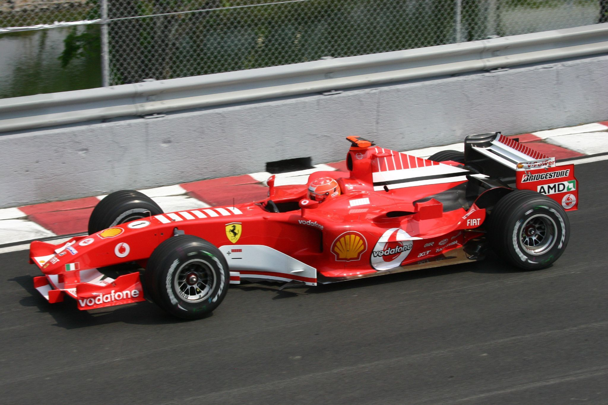 Michael Schumacher Canada 2005 Automobilismo