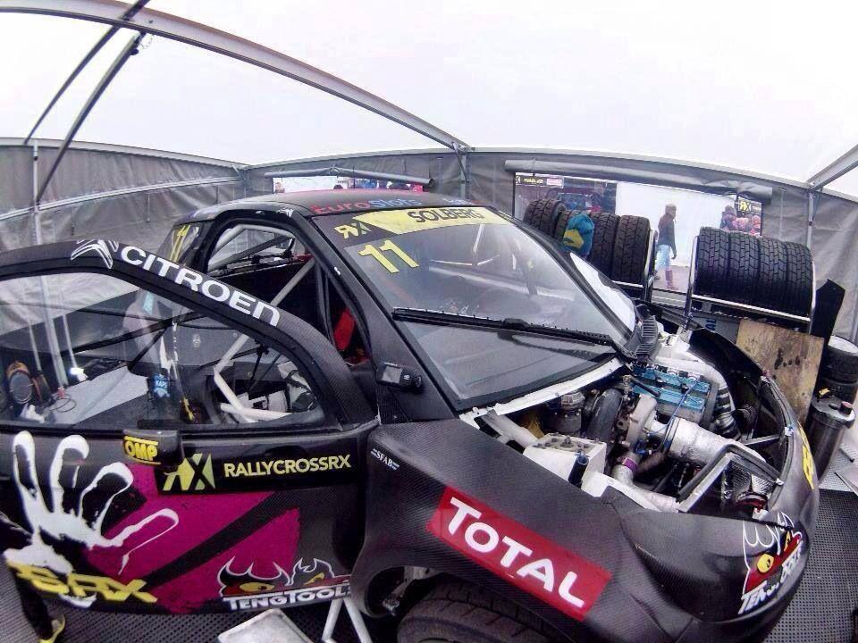 Drift HD Ghost cámara oficial del Rallycross RX, a bordo del Citroen DS3 de Petter Solberg! Get Out There!