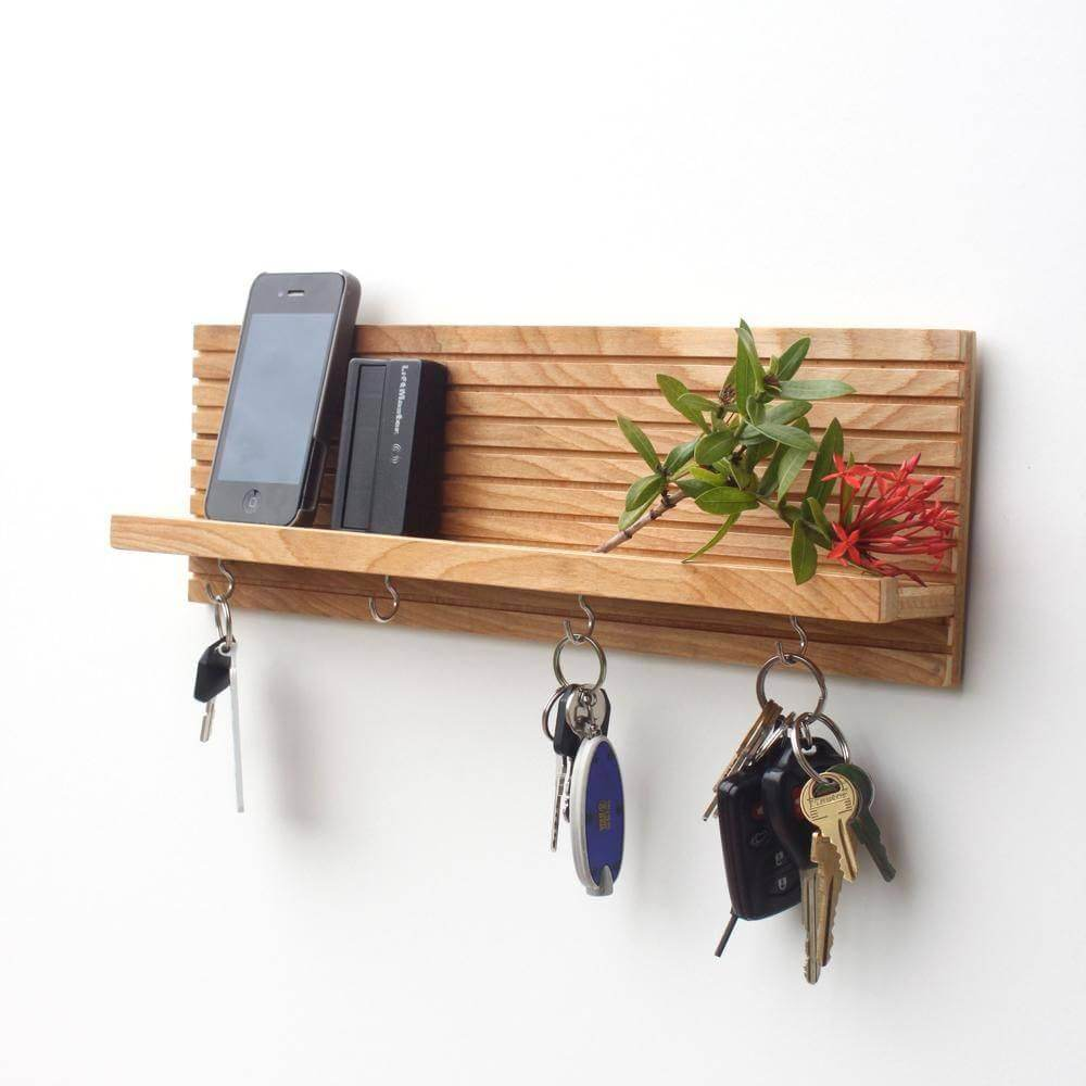 51 Diy Key Holders For Wall 19th Is Most Creative Key Holder Diy Wall Key Holder Wooden Key Holder