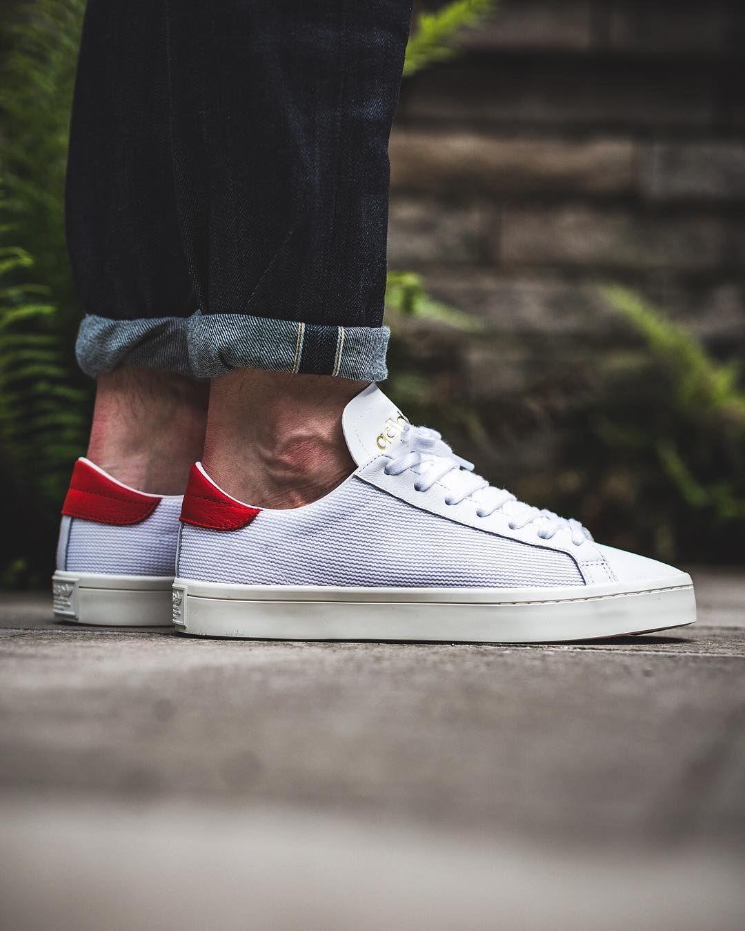 adidas Originals Court Vantage: White