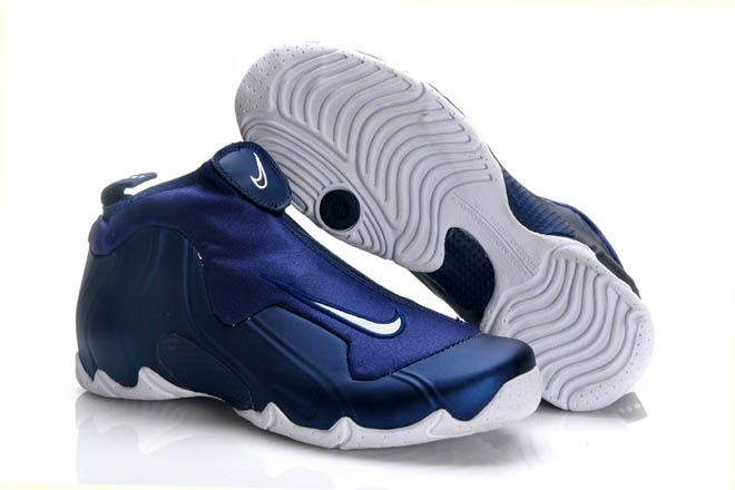 half off ce7b2 b64db Image   ThrowbackThursday - Nike Flightposite 1 Navy White Image  3