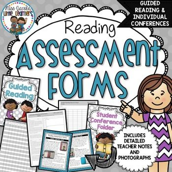 Reading Assessment Forms Guided Reading  Conference Folder