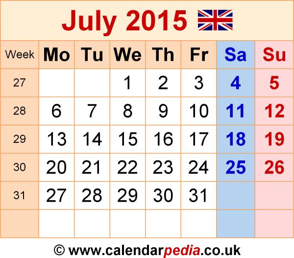 July 2015 Calendar Template Desktop Calendar Template Kalender December