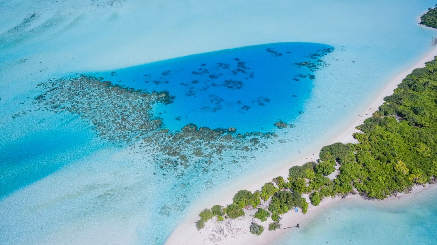 Maldives Tropical Island Aerial Photography Drone Aerial View Ways To Travel