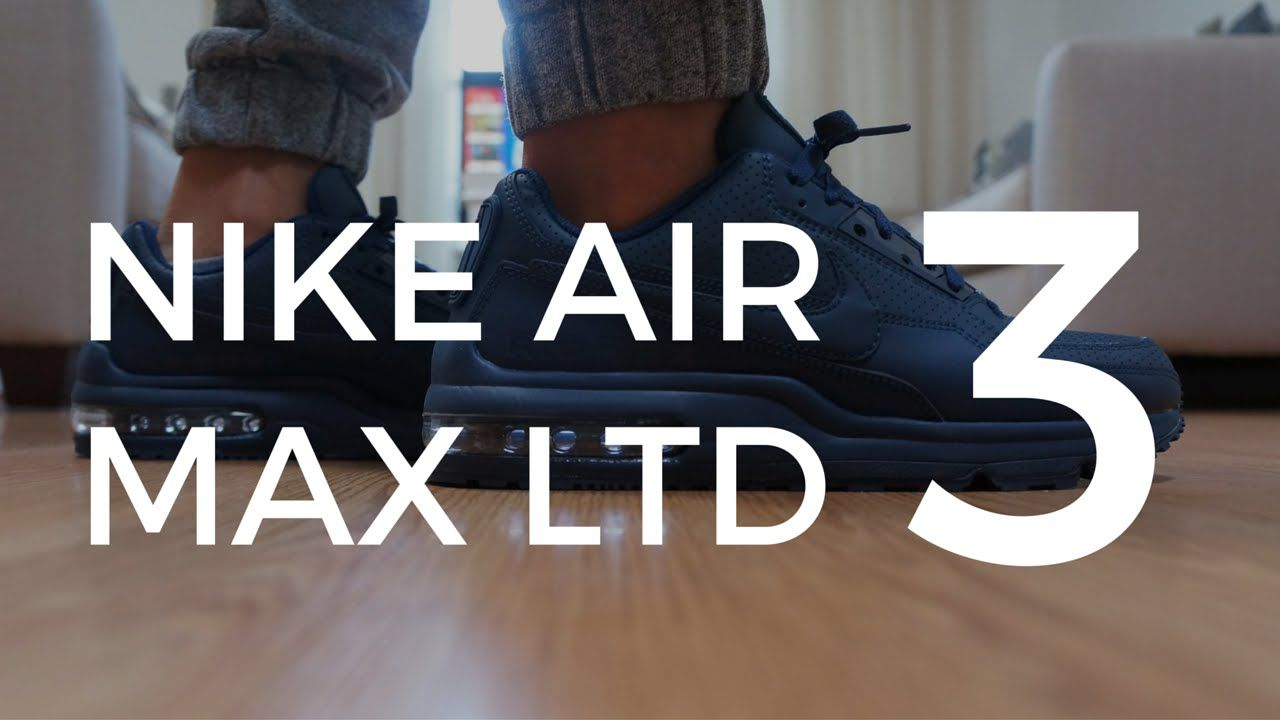 6835c66c0e Nike Air Max LTD 3 Midnight Navy Unboxing + On feet | Sneaker Video ...