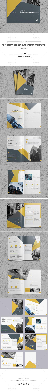 Architecture Brochure Indesign Template   Publicitaria