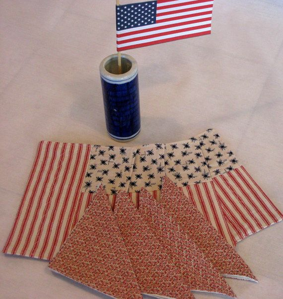 American Girl Placemat Set with Napkins  Red by DollPatchworks, $18.00