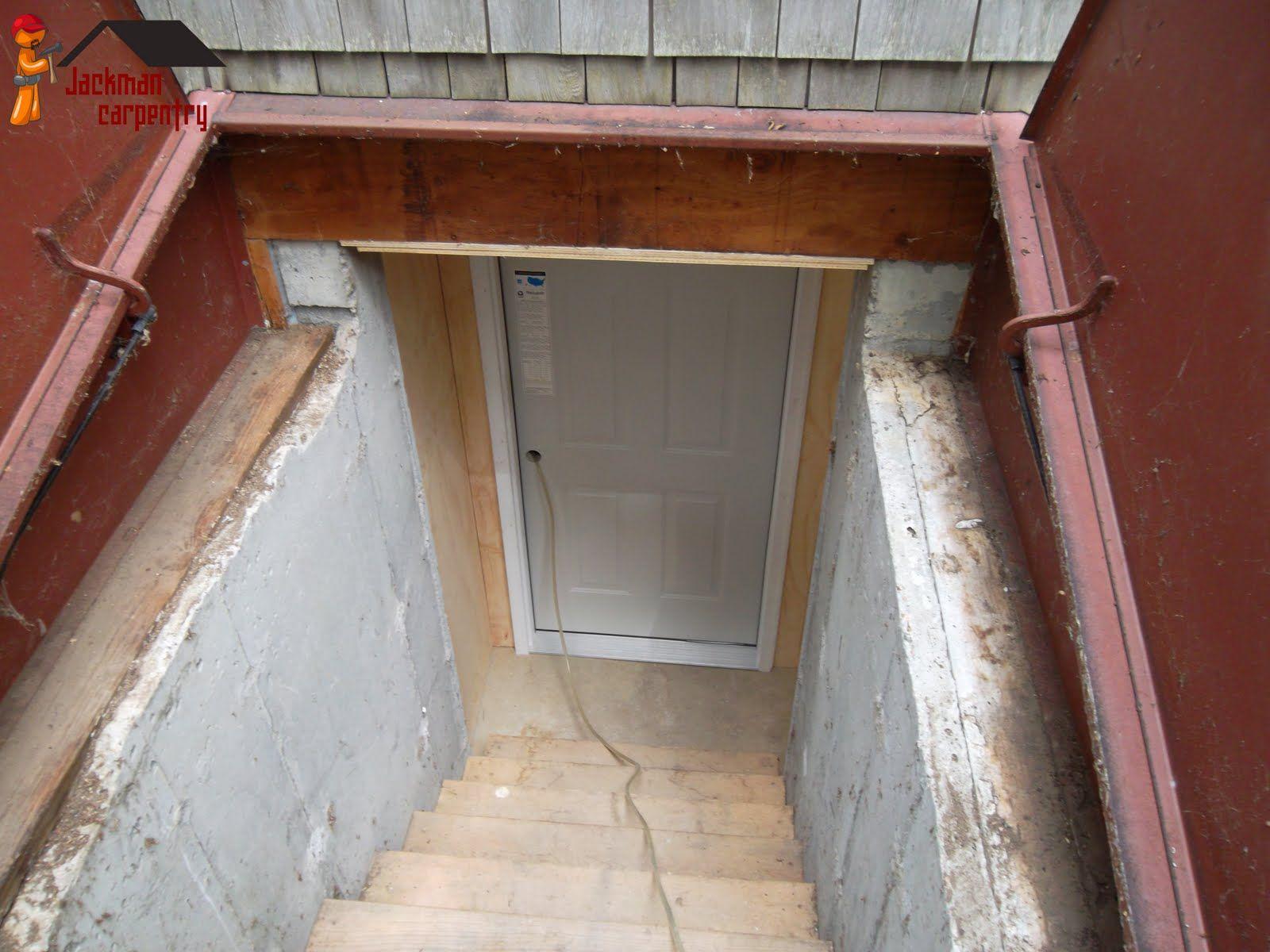 Cellar Door Bat Installation
