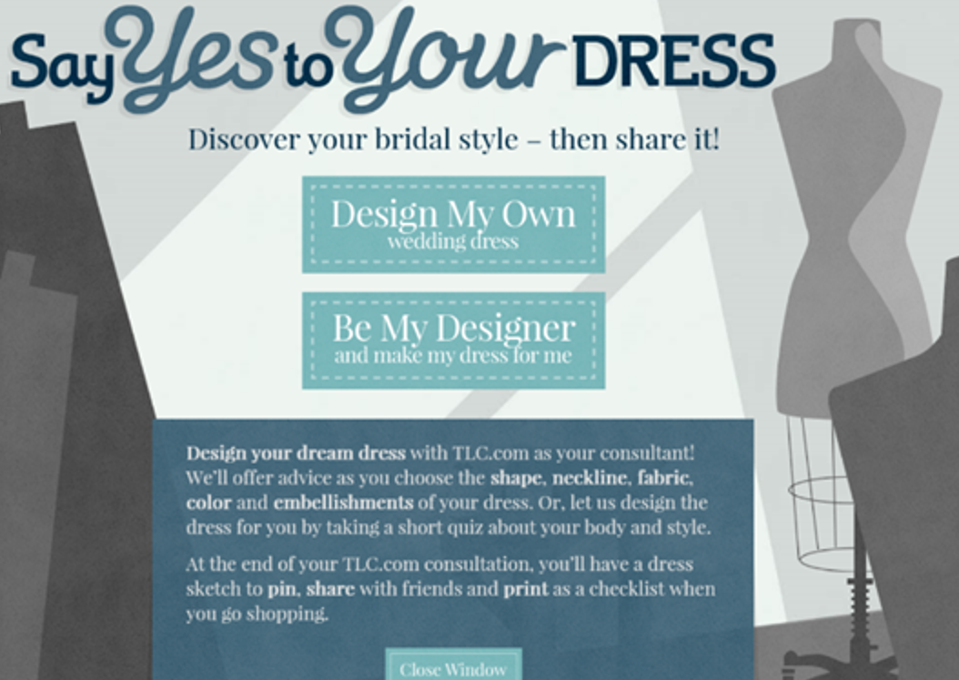 TLC Design Your Wedding Dress: Link: Http://www.tlc.
