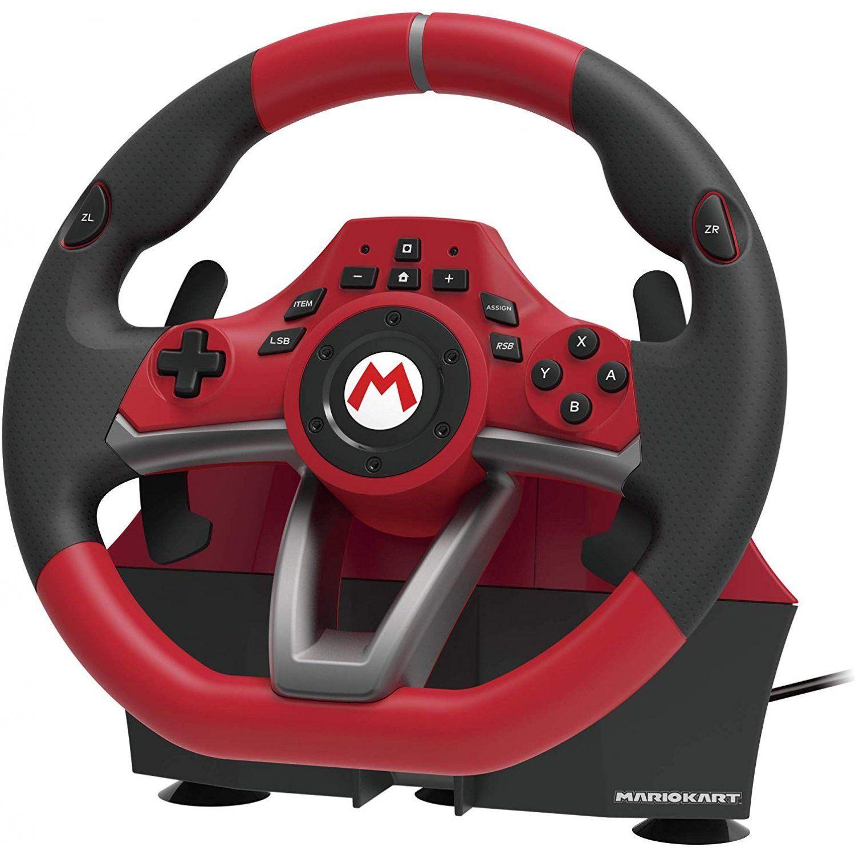 Mario Kart Racing Wheel Pro Deluxe For Nintendo Switch In 2020 Mario Kart Kart Racing Mario Kart Switch