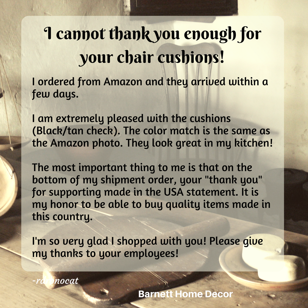 Amazon com black chair cushions -  I Cannot Thank You Enough For Your Chair Cushions I Ordered From Amazon And