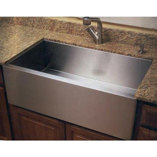 Apron Kitchen Sinks Flat Front Farm Apron Single Bowl Kitchen Sink Zero Radius Design Single Bowl Kitchen Sink Bathroom Faucets Farmhouse Sink
