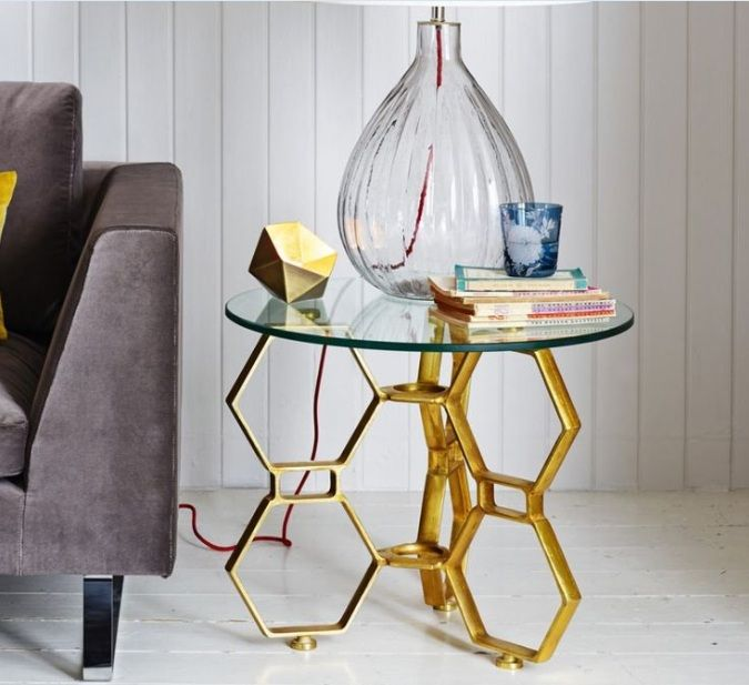 Image Result For Painted Table Legs Side Table Design Glass Top Side Table Gold Side Table