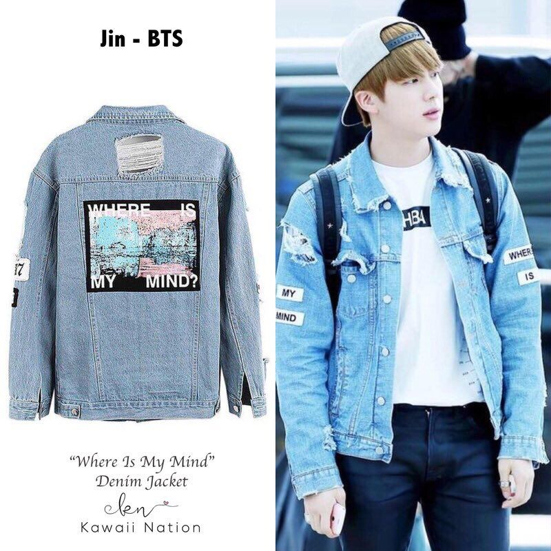 Kpopstyle On Twitter Bts Clothing Bts Inspired Outfits Denim Jacket
