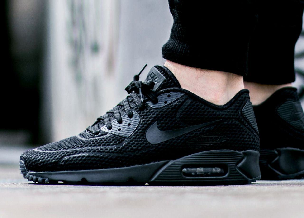san francisco 7c5fb c7e67 Nike Air Max 90 Ultra BR 'Blackout in 2019 | SNEAKERS/KICKS | Street ...